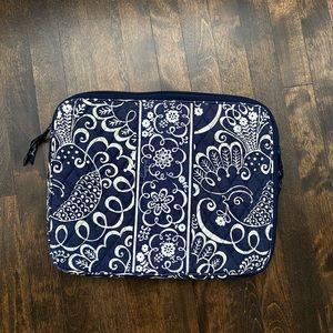 "Vera Bradley Paisley Laptop Sleeve Case 14""X 11"""